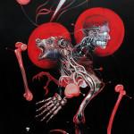 7-Anger, 2013, acrylic/canvas, 210x150 cm.