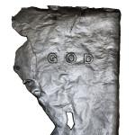 A Piece Of God, aluminium cast.