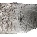 A Piece Of Land, aluminium cast.