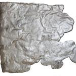 A Piece Of Life, aluminium cast.