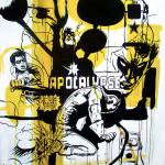 Apocalypse, 2008, 200x150cm, ink/paper.