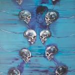 Ascendance (Always Returning), 2014, acrylic & pigments/canvas, 270x190 cm.