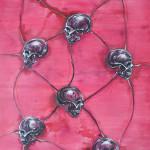 Ascendance (Friends Of Mine), 2014, acrylic & pigments/canvas, 270x190 cm.