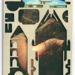 Decoder-Duchamp, collage on digital print, 18x13cm, 2016