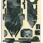 Decoder-Gestapo, collage on digital print, 18x13cm, 2016