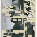 Decoder-Tito, collage on digital print, 18x13cm, 2016