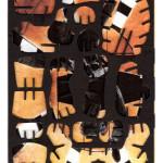 Decoder 2001, collage on digital print, 18x13cm, 2014