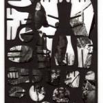 Decoder-Dresden,  collage on digital print, 18x13cm, 2014