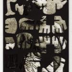 Decoder-Merrick,  collage on digital print, 18x13cm, 2014
