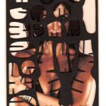 Decoder-Munro,  collage on digital print, 18x13cm, 2014
