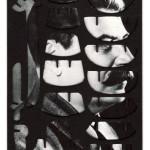 Decoder-Stalin, collage on digital print, 18x13cm, 2014