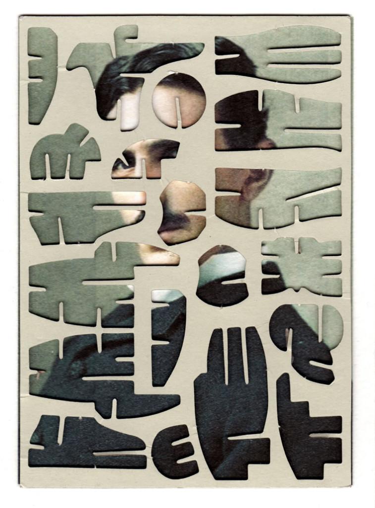 Decoder-Tesla, collage on digital print, 18x13cm, 2014