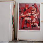 Devil, digital print/canvas & resin, 3 formats available