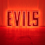 EVILS, , 500x250 cm approx, metal, paint, light bulbs and sequencer loop, soundtrack.