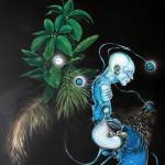 Fickus Dickus, 2015, acrylic/canvas, 270x190cm,.