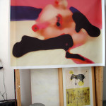 Ivana, digital print/canvas & resin, 3 formats available