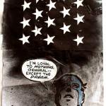 Loyaltonothing, 2006, collage/paper, 40x30 cm