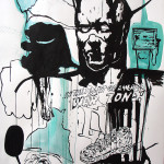 MASH10, 2008, 150x100cm, ink/paper.