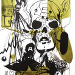 MASH21, 2008, 150x100cm, ink/paper.