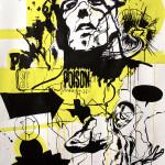 MASH22, 2008, 150x100cm, ink/paper.