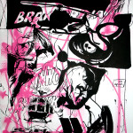 MASH29, 2008, 150x100cm, ink/paper.