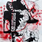 MASH7, 2008, 150x100cm,ink/paper.