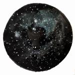 Mindscape 6, 2014, ink/paper, 50cm.