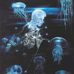 Newton 4, 2012, acrylic/canvas, 270x190 cm.