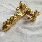 R.Fatt, 1996-2014, gold electrolysis on aluminium, 20x15x8 cm, limited edition