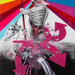 Rottkommando, 2012, acrylic on canvas, 270X190cm.