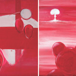 The Day-L, 2014, acrylic/canvas, diptych-41x66cm.