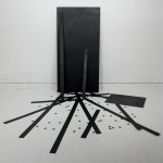 The Dead Flag Blues, 2006, lasercut metal & paint, Ed. of 3, dimensions variable