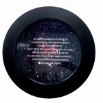 Newton Quotes (Violence), 2014, digital print  & resin /aluminium, 50cm.