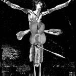 anatomy18, 2002, digital print /canvas, dimensions variable.