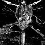 anatomy5, 2002, digital print /canvas, dimensions variable.
